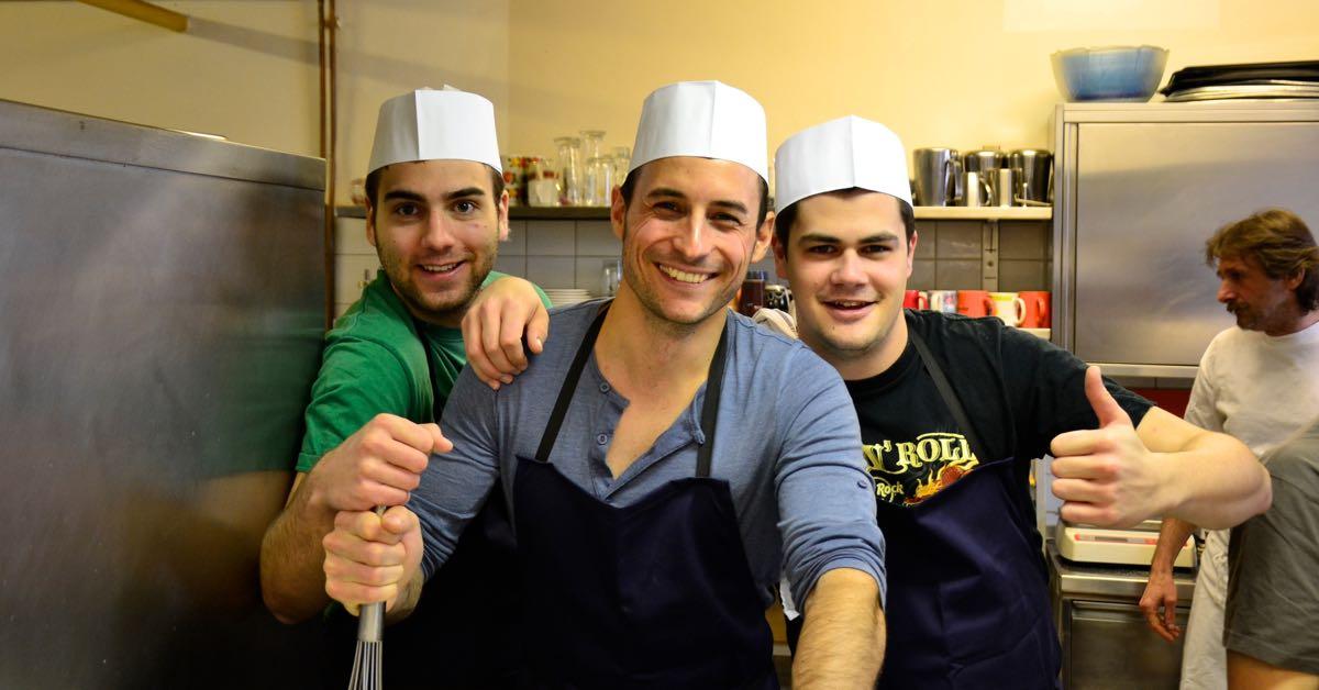 alpenland-kochen für Caritas