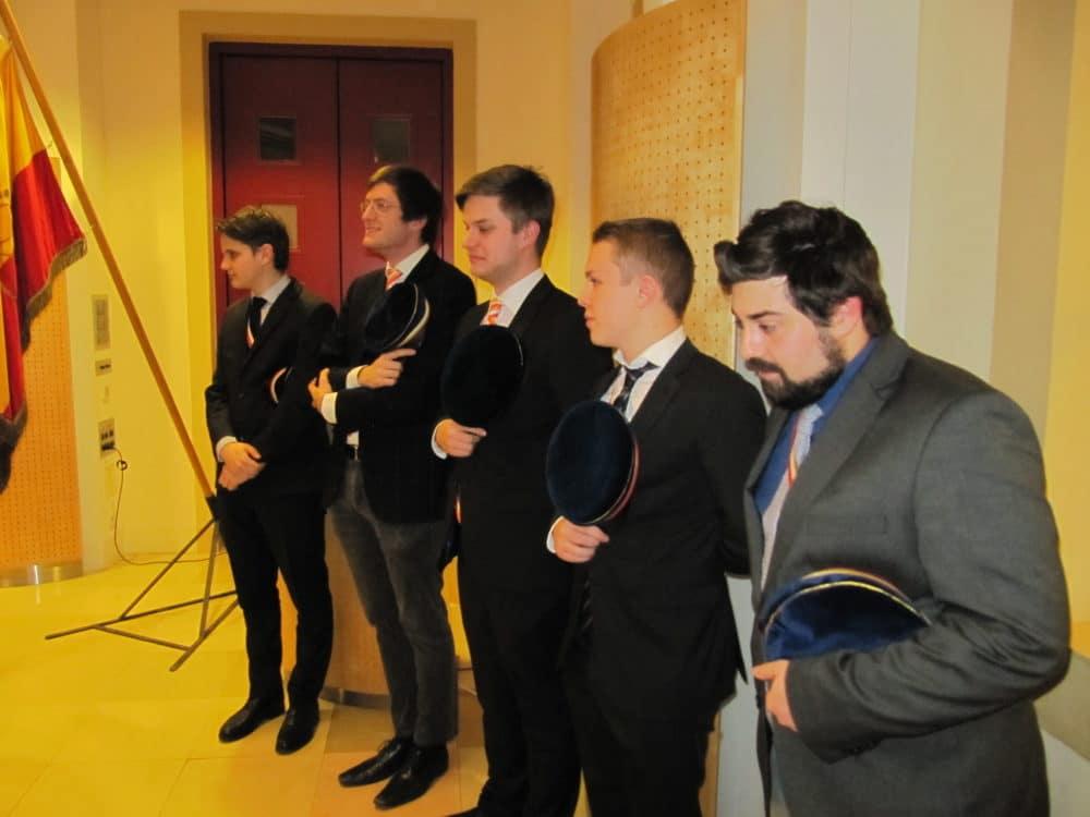 Fuchsia bei der Reception von Bbr. Kusti